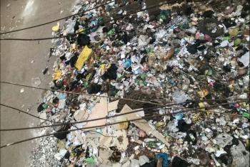 أهالي الزقازيق يستغيثون من انتشار القمامة بمحيط الوحدة الصحية