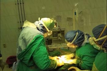 نجاح أول عملية ولادة  قيصرية لمصابة كورونا بمستشفى عزل السعديين بمنيا القمح