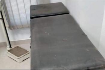 غضب بسبب تجهيز عيادة التأمين الصحي في الحسينية بأجهزة قديمة