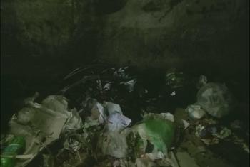 انتشار القمامة في حي الشادر بالقرين