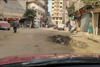 شكوى من تهالك شوارع الإبراهيمية بعد تركيب الغاز والأهالي يطالبون برصفها