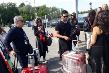 بالفيديو.. وفد فناني الانقلاب يبررون سفرهم لروسيا بعد الهجوم عليهم