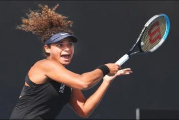 ميار شريف نجمة التنس المصرية تودّع أولمبياد طوكيو مُبكراً