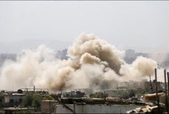 15 قتيلا حصيلة القصف الروسي على إدلب السورية اليوم