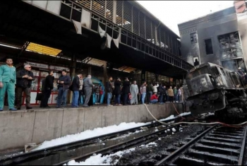 مصرع عامل من منيا القمح متأثرًا بإصابته في حريق محطة مصر