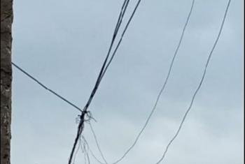 بالصور.. سقوط أسلاك الكهرباء في شوارع قرية بأولاد صقر بعد هطول الأمطار