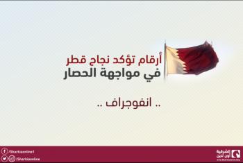 إنفوجراف.. أرقام تؤكد نجاح قطر في مواجهة الحصار
