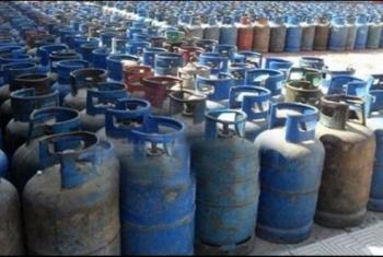 ارتفاع سعر أنبوبة الغاز في مستودع المؤانسة بكفر صقر