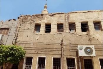 تحذيرات من انهيار مسجد على رؤوس المصلين بالإبراهيمية