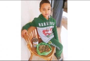 طفل يتبرع بحصالته للمساهمة في إنشاء خزان أكسجين بكفر صقر