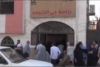 شاهد| أمن الانقلاب يعتدي على أهالي
