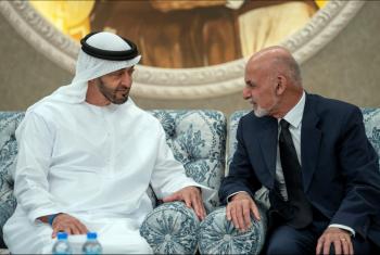 الإمارات تعلن استقبال الرئيس الأفغاني