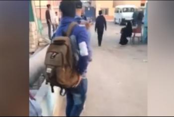 إضراب سائقو خط القاهرة بالحسينية عن نقل الركاب
