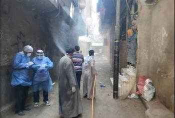 استغاثات من تفشي فيروس كورونا بالسناجرة في أبوحماد