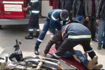 مصرع مواطن وإصابة ابنه إثر انقلاب دراجة بخارية بالحسينية