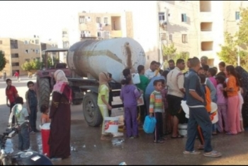 انقطاع المياه يؤرق أهالي مساكن أحمد حلمي بفاقوس