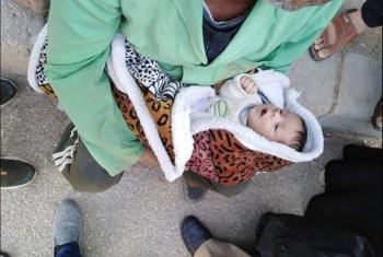 العثور على طفل حديث الولادة بجوار مستشفى الأربعين بالعاشر