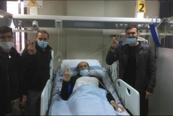 الاحتلال يفرج عن الأسير الفلسطيني ماهر الأخرس بعد نجاح إضرابه