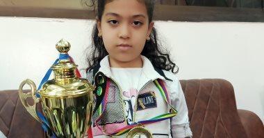 طفلة من ههيا تحصد الميدالية الذهبية في بطولة إفريقيا للشطرنج