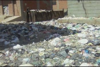 الصرف الصحي يحاصر حي السلخانة ببلبيس