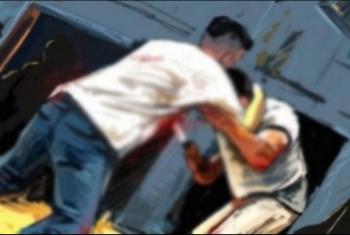 إصابة طالب بجرح قطعي فى الرقبة بمشتول السوق