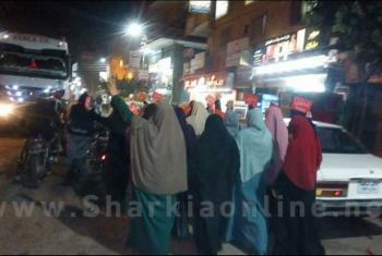 مسيرة ليلية لثوار أبوحماد ضمن أسبوع