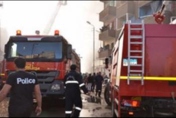 نشوب حريق بمحطة وقود بمنطقة الهاويس فى بلبيس