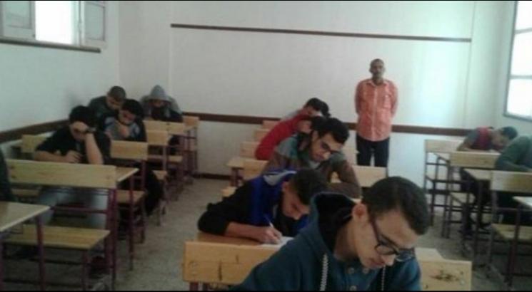 رئيس لجنة امتحانات دبلومات يتغاضى عن الغش ببلبيس