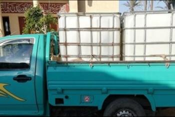 استغاثات من انقطاع مياه الشرب بقرية في منشأة أبوعمر