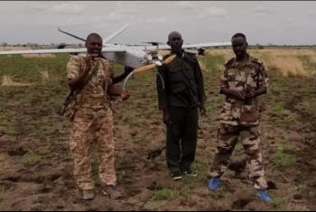 السودان يسقط طائرة تجسس إثيوبية مسيرة