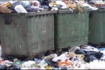 أهالي بلبيس يشكون من استمرار تراكم القمامة في بلبيس