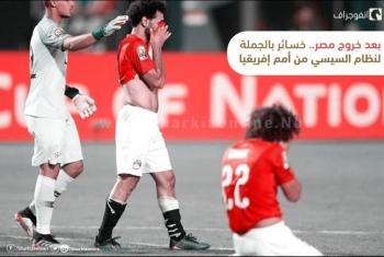 بعد خروج مصر.. خسائر بالجملة لنظام السيسي من أمم إفريقيا