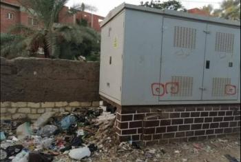 محول كهربائي مكشوف بالقرين يهدد حياة المواطنين