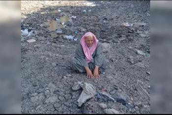 بالصور.. انقطاع مياه الرى بقرية طيب بصان الحجر بعد جفاف الترعة