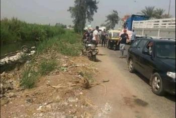 حادث مروري على طريق المسلمية بههيا يسفر عن إصابات