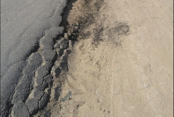 أهالي الحسينية يعانون من تدهور شبكة الطرق