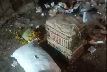 استغاثات لأهالي هربيط بسبب تراكم أكوام القمامة بالسوق الأسبوعي