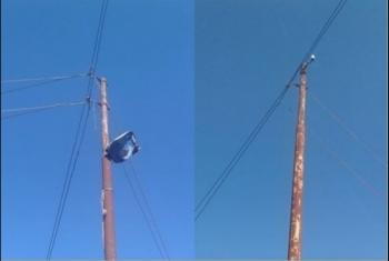 البنية التحتية للكهرباء في قرية