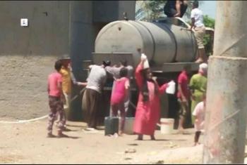 بالصور.. قرية في أولاد صقر محرومة من مياه الشرب منذ رمضان الماضي