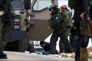 الاحتلال الصهيوني يعتقل 8 فلسطينيين بالضفة الغربية