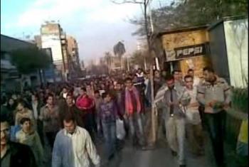 بالصور.. فعاليات جمعة الغضب 28 يناير 2011 بالزقازيق