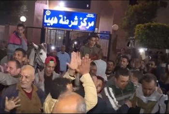 حبس طالب 15 يوما بعد إخلاء سبيله في ههيا