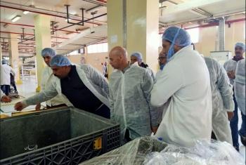 لعدم الالتزام بالإجراءات الوقائية غلق 3 مصانع بالعاشر من رمضان لمدة يومين