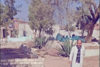 بالصور.. قريتان بالحسينية تطالبان بإنارة المقابر بعد انتشار تجار المخدرات