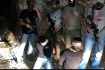 العدو الصهيوني يعتقل 4 من أبطال نفق الحرية