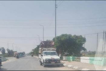 أزمة مرورية بسبب غلق ملف على طريق أبوحماد بلبيس