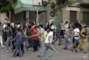 مشاجرة بالأسلحة داخل سوق ههيا وإصابة العشرات