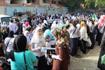 مواطنون: لجنة الثانوية بإدارة الإبراهيمية لم تعقم ولا يوجد بها بوابات تطهير
