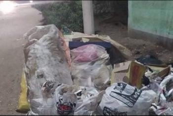 شكوى من تراكم القمامة في قرية دبيج بديرب نجم