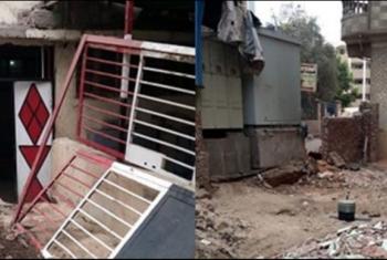 منطقة محطة مياه الشرب في الزقازيق مأوى للخارجين عن القانون